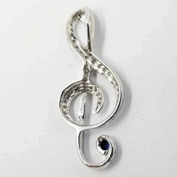 Musical-Clef-Diamond-Pendant