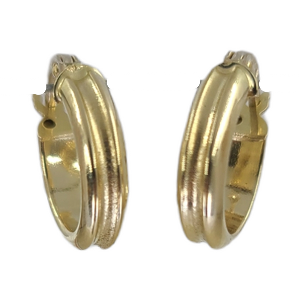 yellow-gold-hoop-earrings