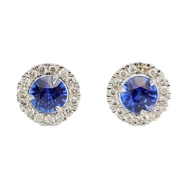 0.74-Carat-Sapphire-and-diamond-halo-stud-earrings