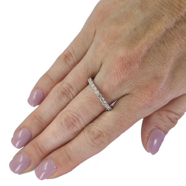 Estate-diamond-eternity-wedding-band