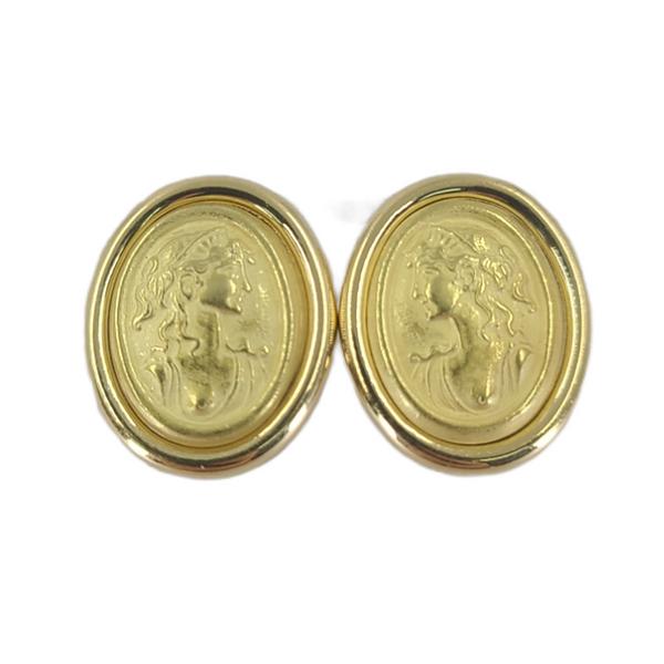 picinotti-profile-yellow-gold-stud-earrings