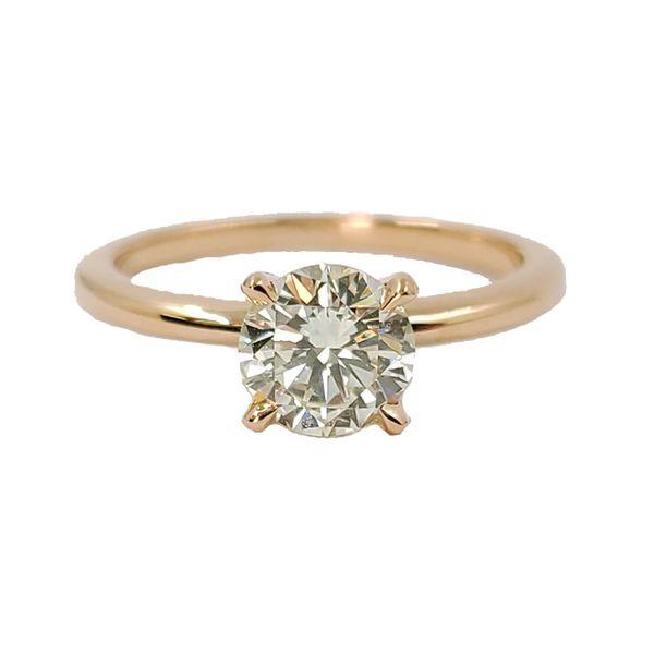 Rose-Gold-Diamond-Engagement-Ring