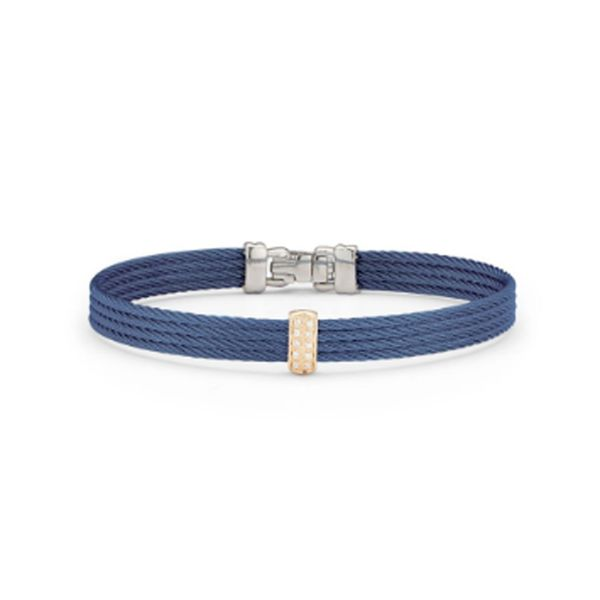 Alor-Rose-gold-steel-blueberry-cable