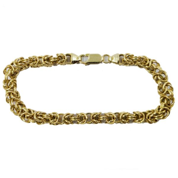 Byzantine-yellow-gold-bracelet