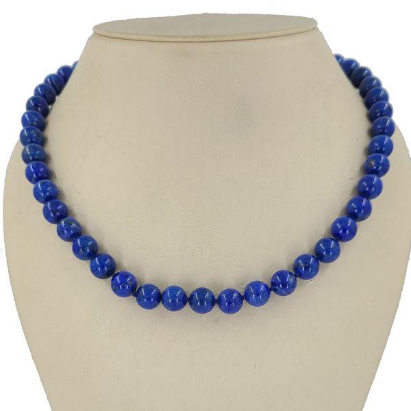 Lapis-lazuli-bead-necklace