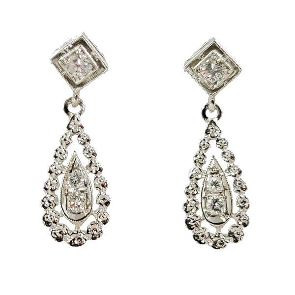 Diamond-Pear-Drop-Dangle-earrings