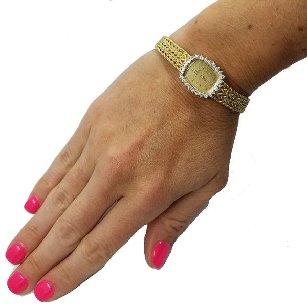 Omega  Ladies Quartz Watch Image 2 Jae's Jewelers Coral Gables, FL