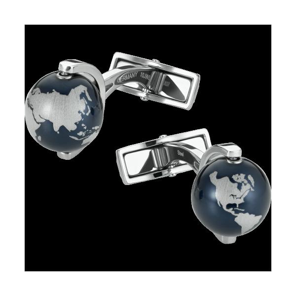 Montblanc-Globe-cufflinks