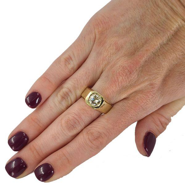 Estate-Men's-diamond-ring