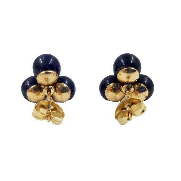 Sodalite Cluster Earrings  Image 3 Jae's Jewelers Coral Gables, FL