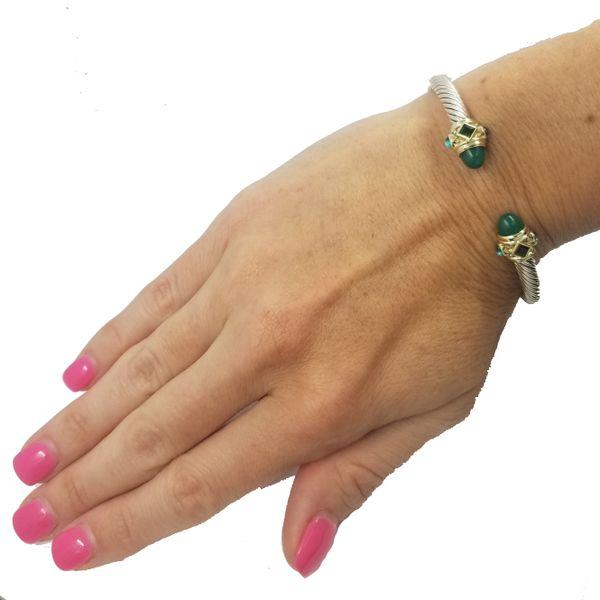 David-Yurma-Green-Onyx-bracelet