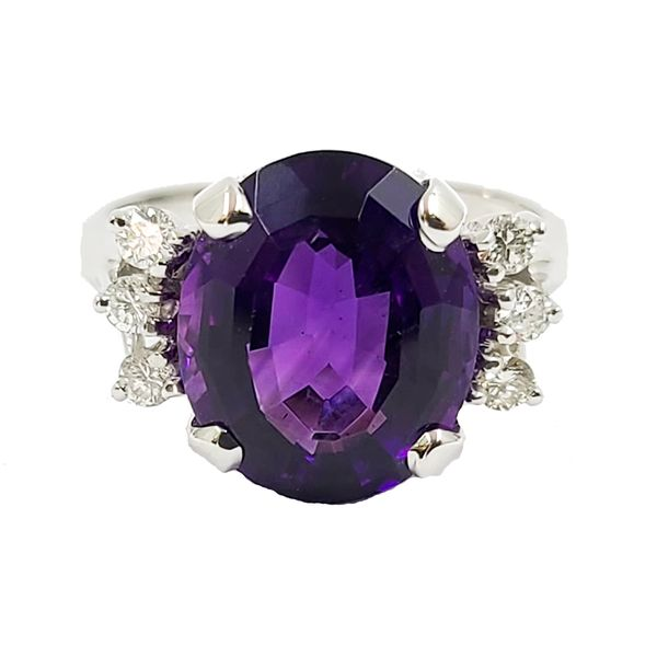 Amethyst-and-diamond-ring