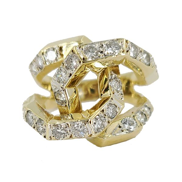cross-link-yellow-gold-and-diamond-ring