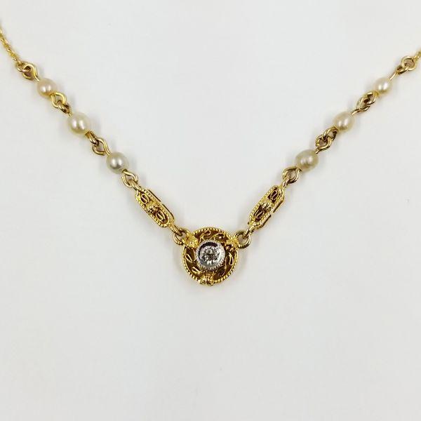 Pearl-Diamond-Necklace
