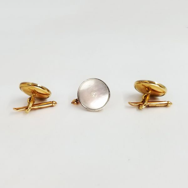 Mother-of-pearl-cufflinks