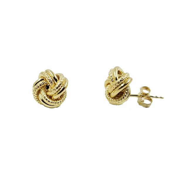 Love Knot Stud Earrings  Image 2 Jae's Jewelers Coral Gables, FL