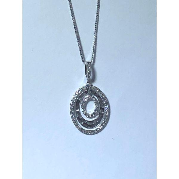3 oval diamond pendant Jerald Jewelers Latrobe, PA