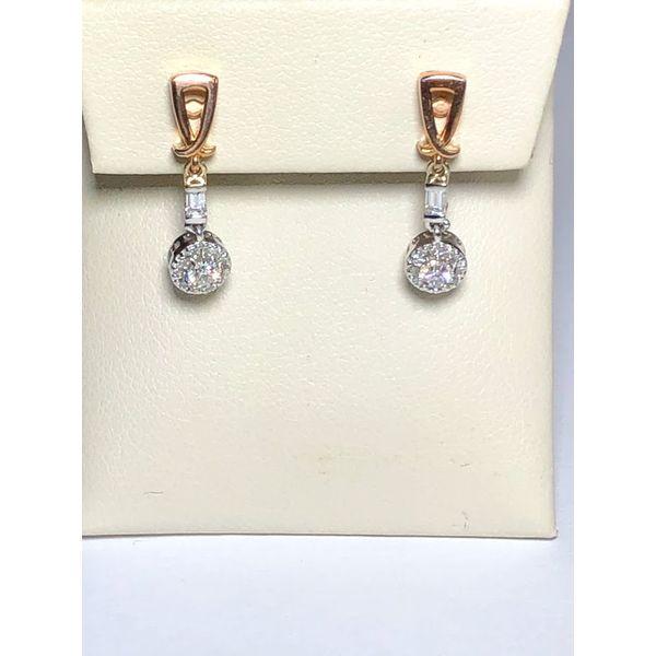 Dangle Diamond Earrings Jerald Jewelers Latrobe, PA