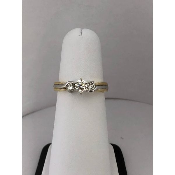 3 Stone Diamond engagement ring Jerald Jewelers Latrobe, PA