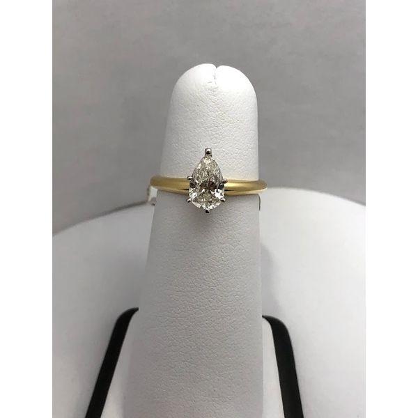 Diamond Solitaire Ring Jerald Jewelers Latrobe, PA