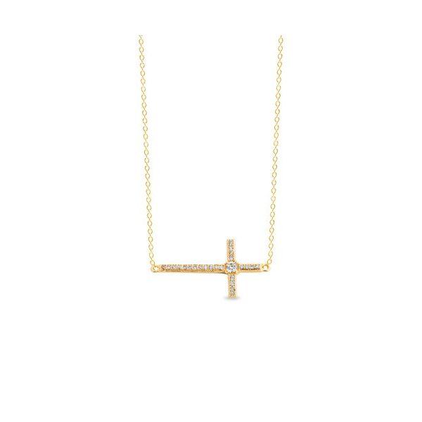 GP Sideways Cross Jerald Jewelers Latrobe, PA