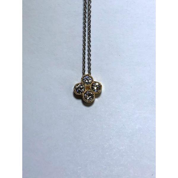 Diamond Fashion Necklace Image 2 Jerald Jewelers Latrobe, PA