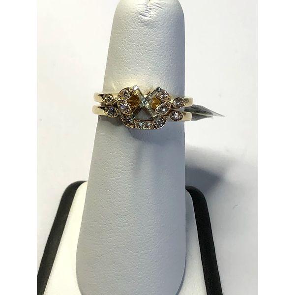 14kt YG Diamond Semi Mount Image 2 Jerald Jewelers Latrobe, PA