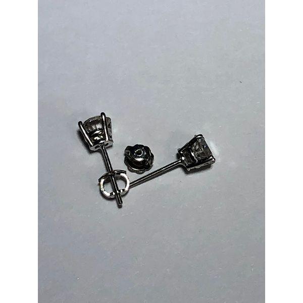 Round Diamond Studs Image 2 Jerald Jewelers Latrobe, PA