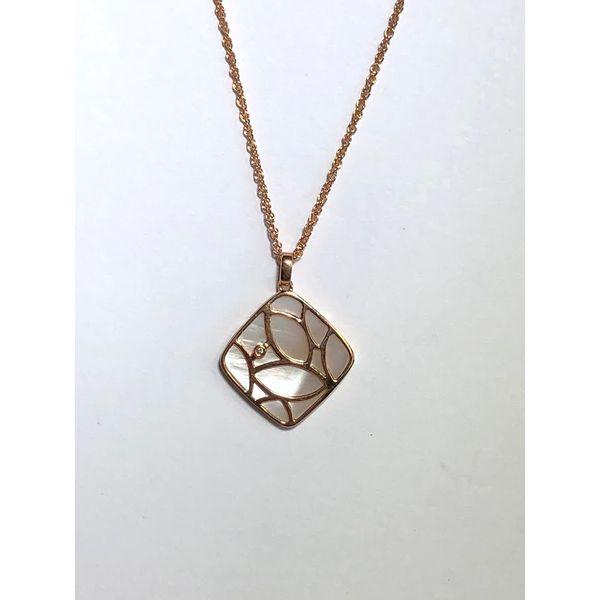 Mother of Pearl and Diamond Pendant Jerald Jewelers Latrobe, PA