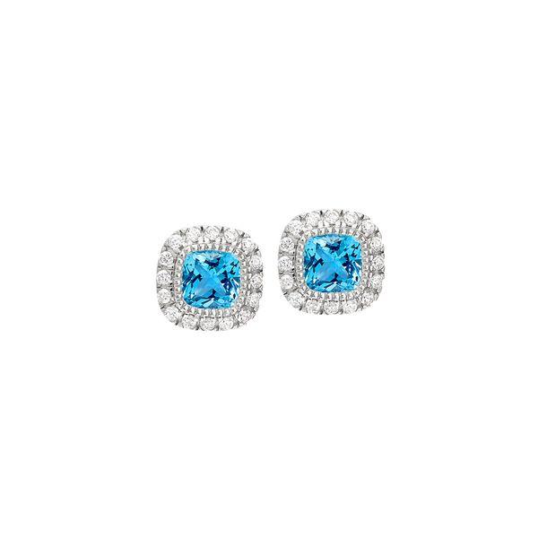 SS December BS Studs Jerald Jewelers Latrobe, PA
