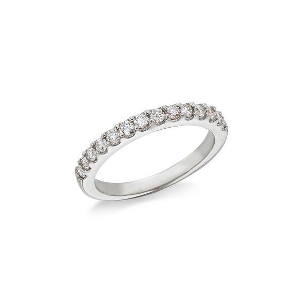 White gold & diamond wedding band Jerald Jewelers Latrobe, PA