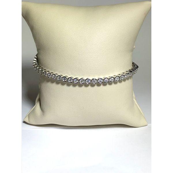 Bezel set Diamond Bracelet Jerald Jewelers Latrobe, PA