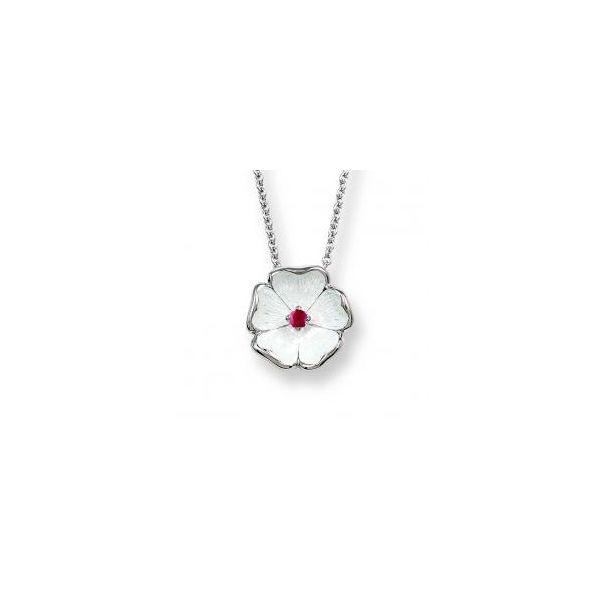 WHITE ROSE RUBY NECKLACE Jerald Jewelers Latrobe, PA
