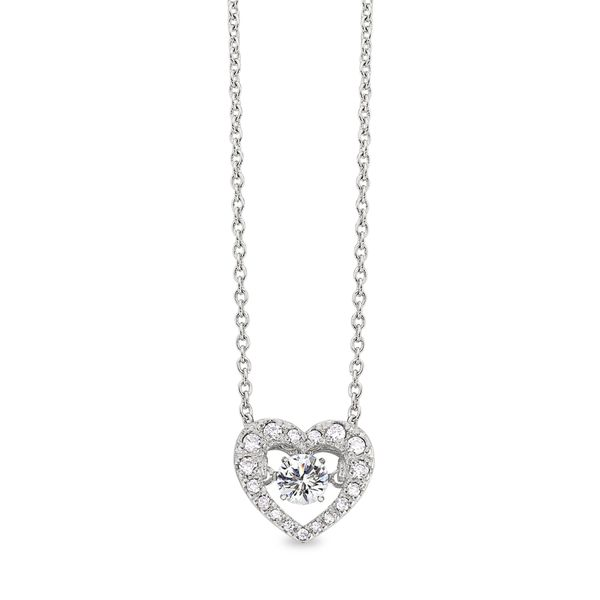 SS Dancing Heart Pendant Jerald Jewelers Latrobe, PA