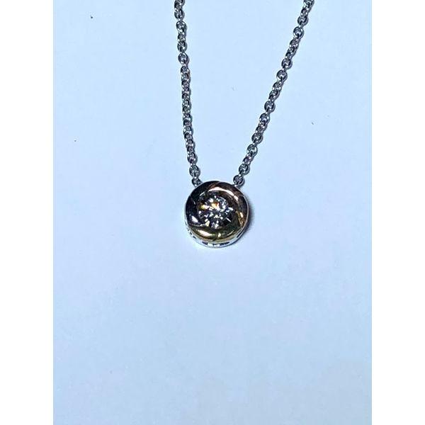 Tri-colored Diamond Necklace Image 2 Jerald Jewelers Latrobe, PA