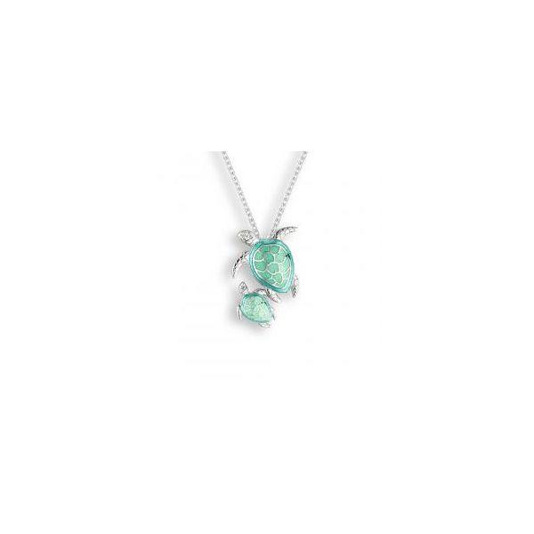 GREEN TURTLE NECKLACE Jerald Jewelers Latrobe, PA