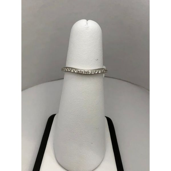 Curved Diamond Band Jerald Jewelers Latrobe, PA