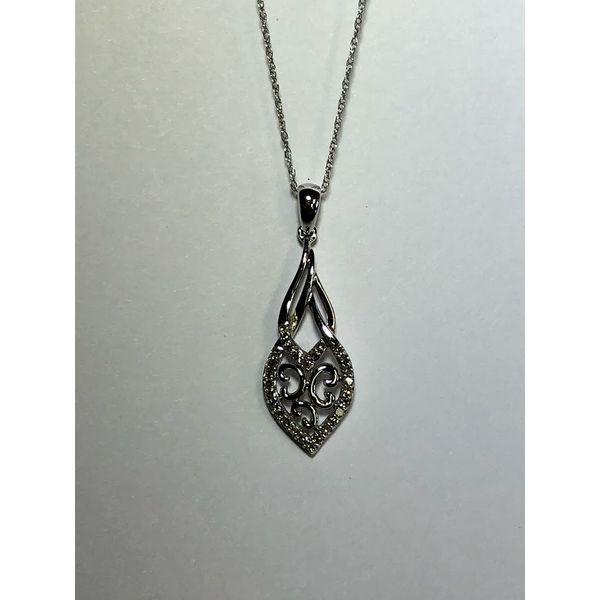 Diamond Drop Pendant Jerald Jewelers Latrobe, PA