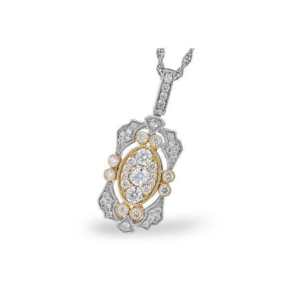 Diamond Vintage Pendant Jerald Jewelers Latrobe, PA