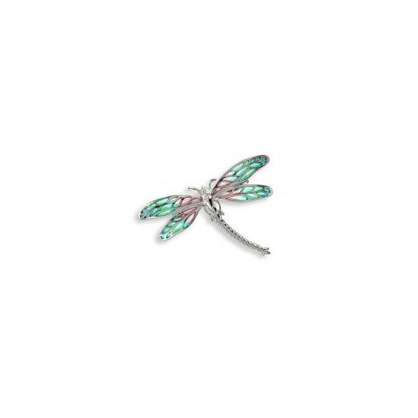 DRAGONFLY BROOCH-PENDANT Jerald Jewelers Latrobe, PA