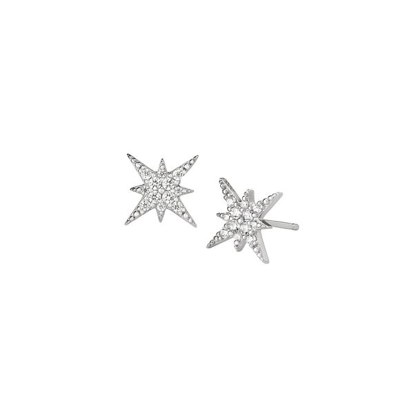 SS Star stud earrings Jerald Jewelers Latrobe, PA