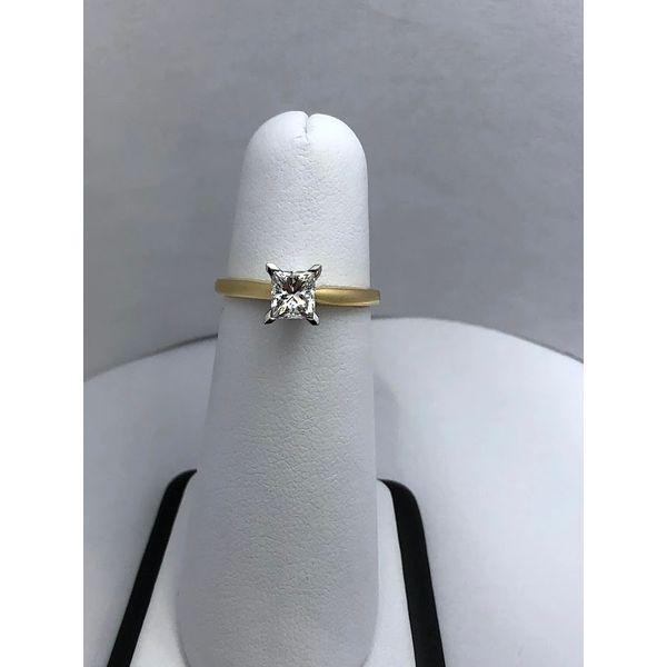Princess cut Solitaire Jerald Jewelers Latrobe, PA