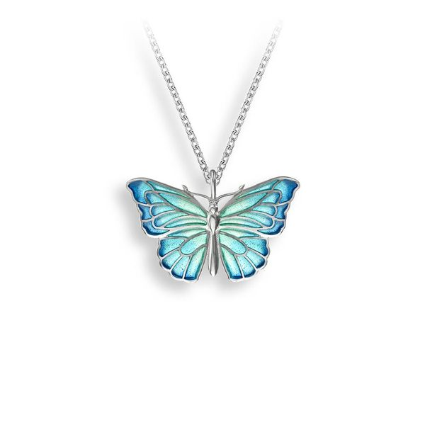 BLUE BUTTERFLY PENDANT Jerald Jewelers Latrobe, PA