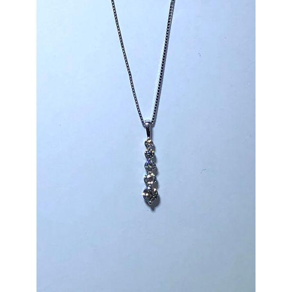 Diamond Journey Pendant Jerald Jewelers Latrobe, PA