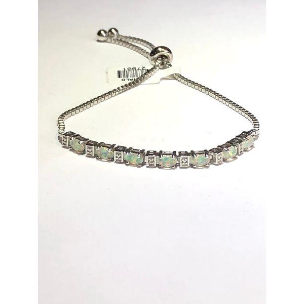 SS Synthetic Opal Bolo Bracelet Jerald Jewelers Latrobe, PA