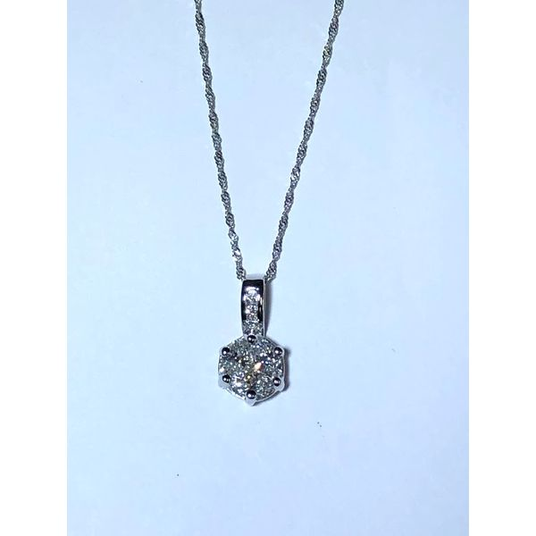 Diamond Cluster Pendant Jerald Jewelers Latrobe, PA