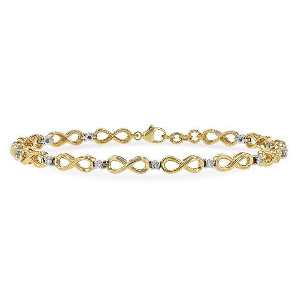 Diamond Infinity Link Bracelet Jerald Jewelers Latrobe, PA