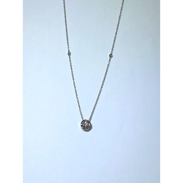 Tri-colored Diamond Necklace Jerald Jewelers Latrobe, PA