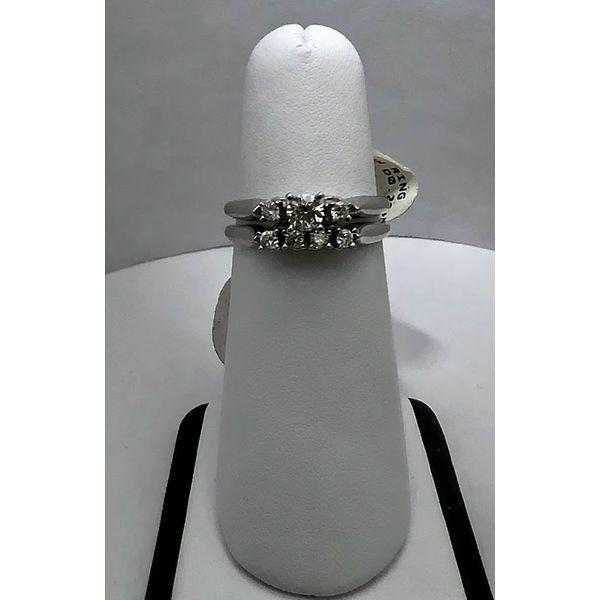 Diamond Bridal Set Jerald Jewelers Latrobe, PA