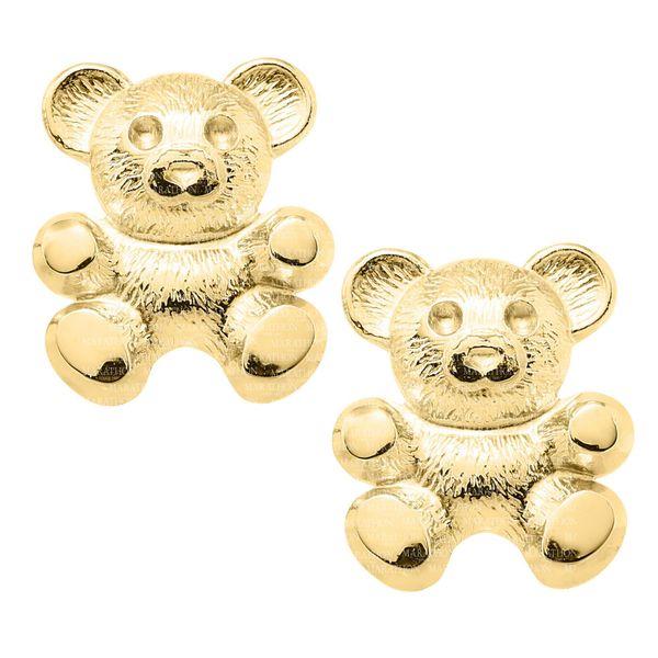 14K CHILDRENS GOLD SAFETY EARRING Jerald Jewelers Latrobe, PA